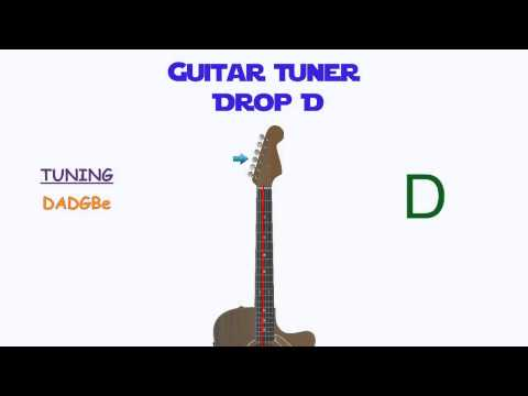 Guitar Tuning - Drop D