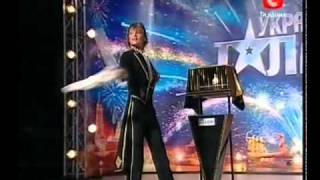 Ukraine's got talent (3rd season) Vitaly Luzkar' - the magician