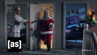 Santa Poops | Robot Chicken | Adult Swim