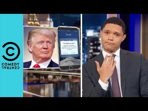 Donald Trump's Texts To The Nation | The Daily Show With Trevor Noah