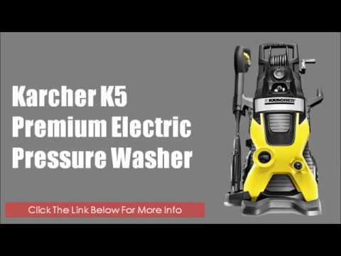 Karcher Pressure Washer Karcher K5 Premium Electric Power Pressure Washer 2000 Psi 1 4 Gpm
