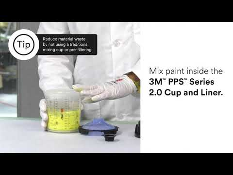 3M™ PPS™ Series 2.0 Spray Cup System - How to setup