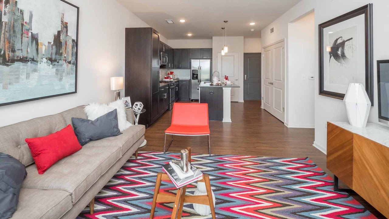 A Luxury 1 Bedroom Model At Bolingbrook 39 S New Brook On Janes Apartments Youtube