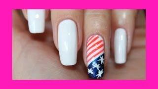 Учимся рисовать Американский флаг на ногтях / Draw the American flag on the nails(Учимся рисовать Американский флаг на ногтях / Draw the American flag on the nails Лучшая благодарность - это ваши лайки..., 2013-06-26T17:31:56.000Z)