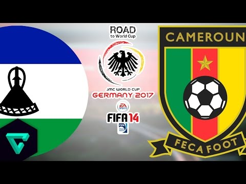 Lesotho vs. Cameroon | Final Match | Road To World Cup Germany 2017 | FIFA 14