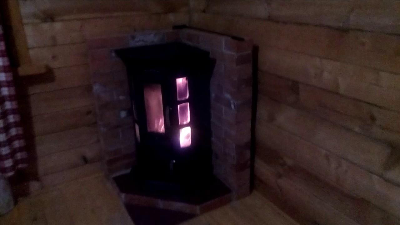 Отзыв на печь для дачи быстрого тепла на дачу! - YouTube