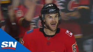 Michael Frolik Skates By Seth Jones To Score Beauty Goal For Calgary Flames