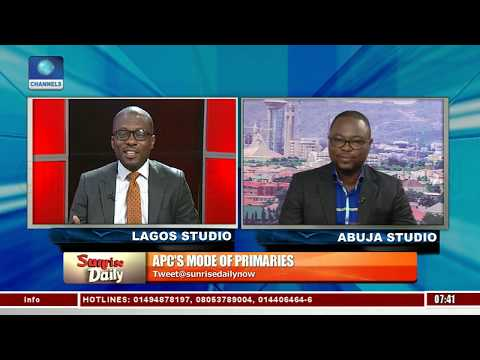 'Why APC National Leadership Adopted Multi-mode Primaries', Azuatalam Explains Pt.2 |Sunrise Daily|
