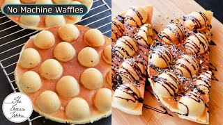 Waffle Recipe No Machine &amp Sandwich Maker1st Time On YouTube with this UtensilThe Terrace Kitchen