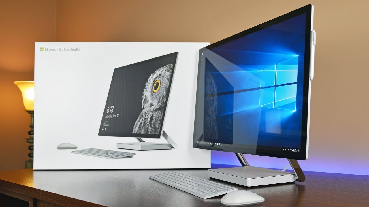 d6ffca1aa51 Microsoft Surface Studio  Unboxing   Review - YouTube
