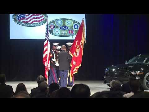 Veterans Day 2017 WHQ  National Anthem  Kim Webb