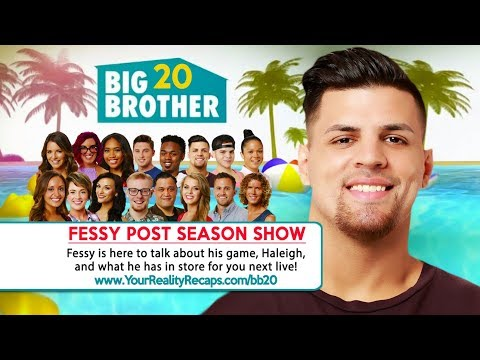 #BB20 POST SEASON INTERVIEW: Fessy Faysal Shafaat Live!