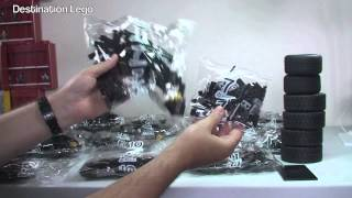 Kids Play Activity - Lego Motivation - Lego Super Heroes The Tumbler Set 76023 Unboxing Video (2014)