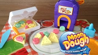 Moon Dough Pizzaria Com Forno Mágico Pan Pizza Playset With Magical Oven