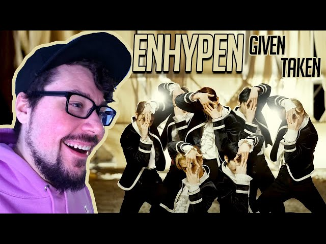 Mikey Reacts to ENHYPEN (엔하이픈) 'Given-Taken' Official MV