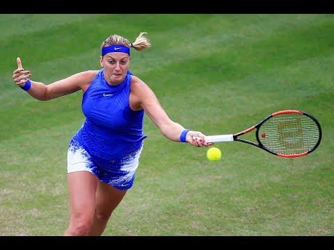 Квитова на отказе Шафаржовой вышла в финал турнира в Бирмингеме, Мугуруса уступила Барти