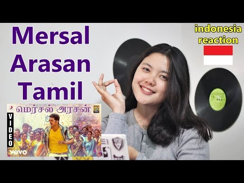 Mersal - Mersal Arasan Tamil Video | Vijay | A.R. Rahman Reaction Indonesia