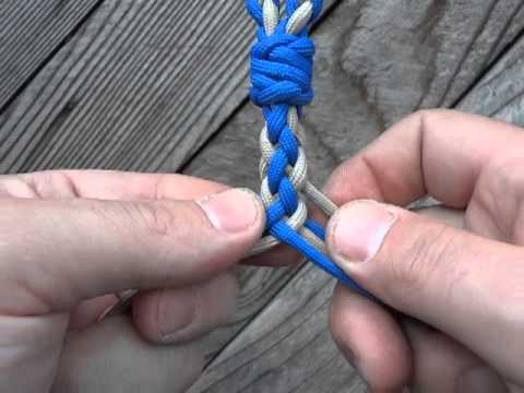 Braided wire bracelet tutorial