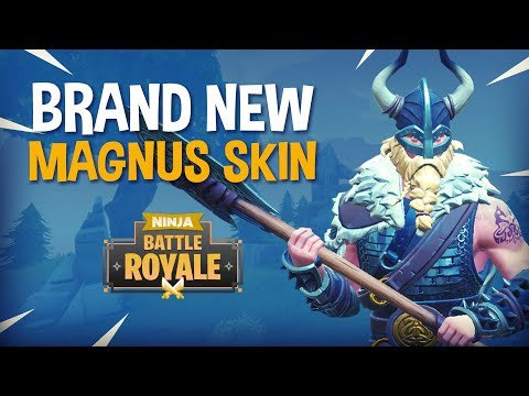 BRAND NEW Magnus Skin!! - Fortnite Battle Royale Gameplay - Ninja & KingRichard
