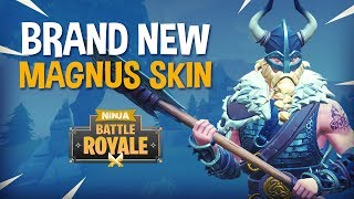 BRAND NEW Magnus Skin!! - Fortnite Battle Royale Gameplay - Ninja & KingRichard thumbnail