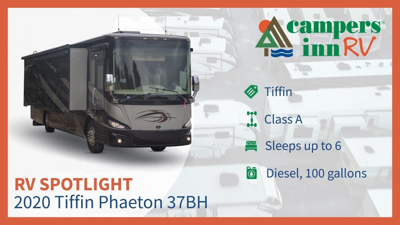 Las Vegas Rv Show 2020.2020 Tiffin Phaeton 37bh Class A Motorhome Walkthrough