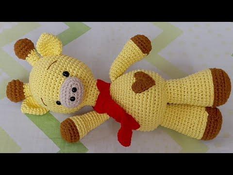 Crochet juguete jirafa bebé animal amigurumi jirafa relleno de | Etsy | 360x480