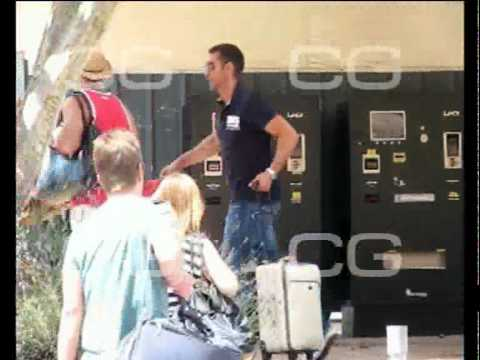 Jesús Vázquez y su marido en Ibiza