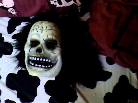 Masque qui fait un peur un masque de joie youtube - Masque qui fait peur a imprimer ...