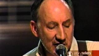 Pete Townshend - Storytellers Pt 1 of 4
