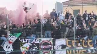 """Carrarese - Ascoli 2014 / 2015 Coro """"Forza Picchio Vinci per Noi """""""