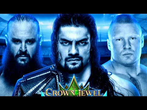 WWE Crown Jewel 2018 Highlights Match Card predictions
