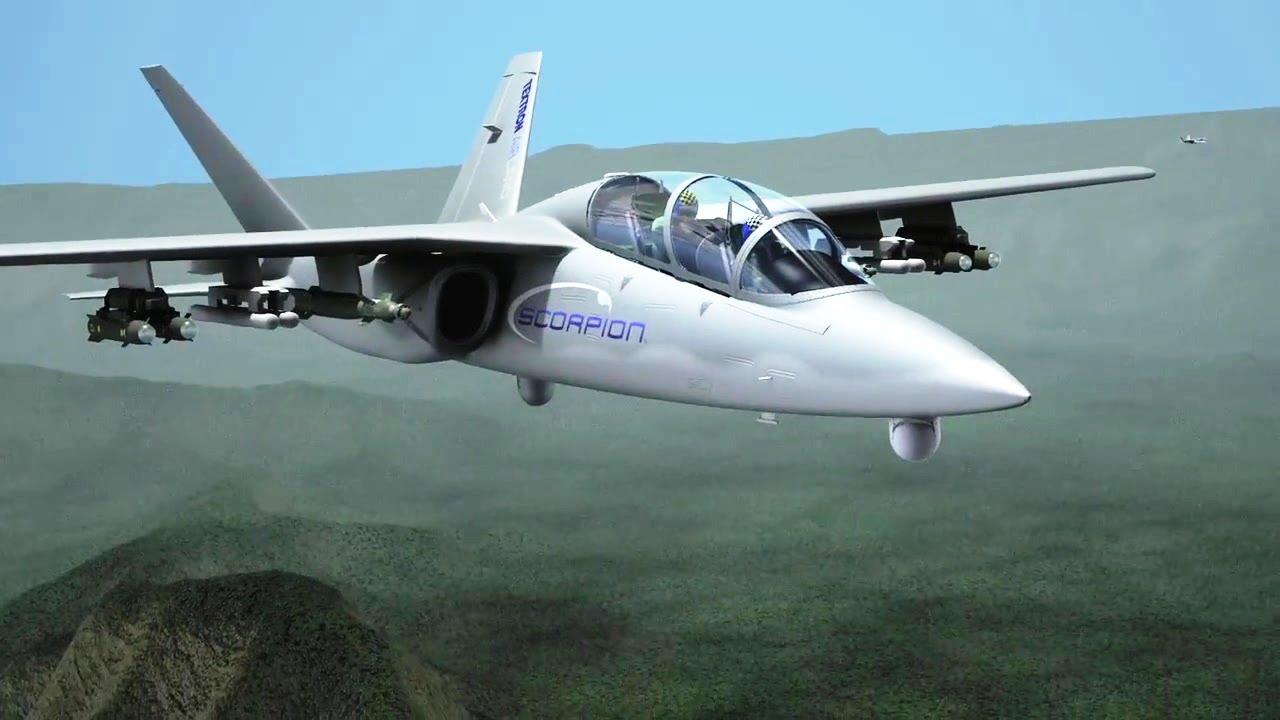 Resultado de imagen para Textron Scorpion Jet + weapons