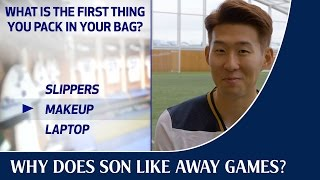 Why does Heung-min Son like away games?