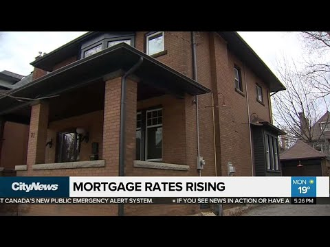 Business Report: What's Behind Rising Mortgage Rates