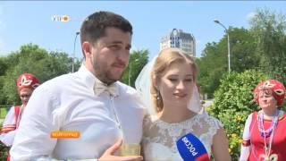 Свадьба в русском стиле в Волгограде