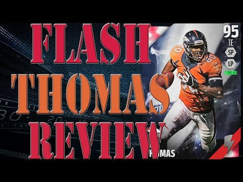 Flashback Julius Thomas Review | Player Review | Madden 16 Ultimate Team Gameplay | MUT 16