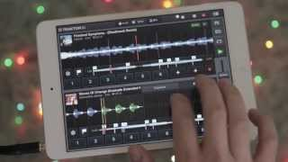 Traktor DJ app vs iPad mini (Mashup)