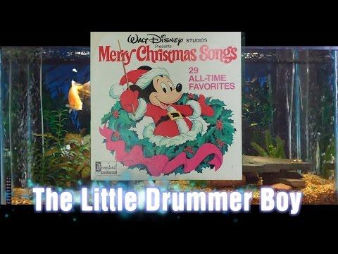 The Little Drummer Boy = Merry Christmas Songs = Walt Disney