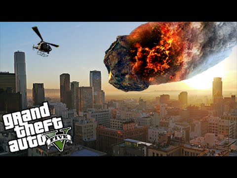 GTA 5 Mods - INSANE METEOR SHOWER MOD! (GTA 5 Mod Gameplay)