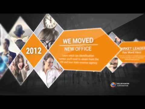 Company Profile Presentation - After Effects Template - YouTube
