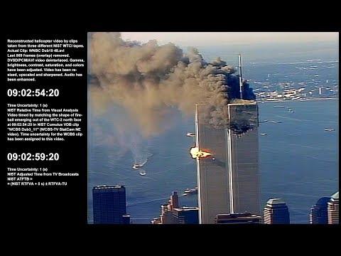 WTC 1 / 9:00:34am - 10:36:39am / NE, N & NW / Raw Video by WNBC-TV Chopper 4 - Sel. Take 1 of 1