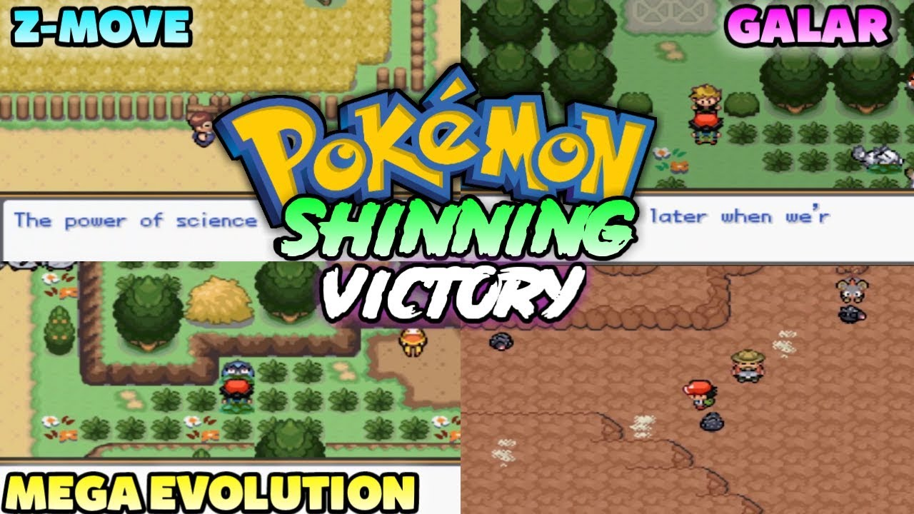 Updated New Pokemon Gba Rom Hack With Mega Evolution Z Moves