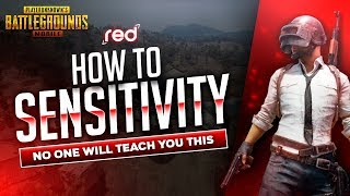 [Pubg Mobile] HOW TO SENSITIVITY | Find YOUR perfect Sensitivity | MY SENSETIVITY | RED