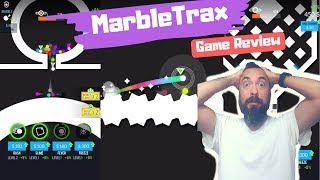 🔮MarbleTrax🤩Racing🏎Idle Like Game Play 🎏 Review 402