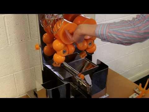 Presse-agrumes professionnel Premier Service à robinet automatique