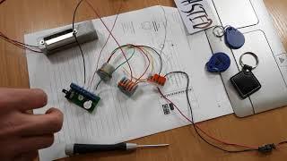 Instrukcja instalacji i programowania kontrolera Z5R + czytnik CP-Z2M (13,56MHz) marki IronLogic