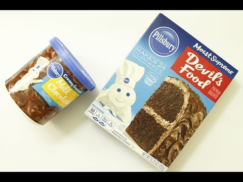How To Make Pillsbury Chocolate Cake With Frosting