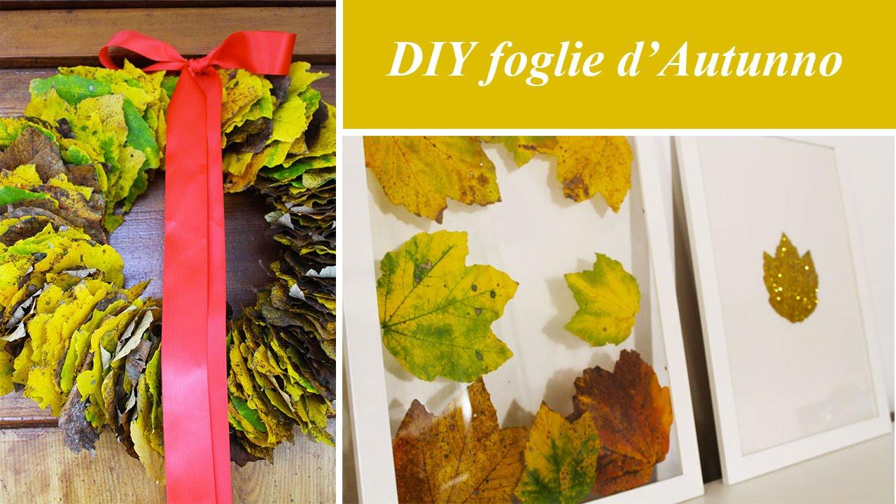 Progetti Decorazione Fai Da Te Diy Autunno : Diy d autunno ghirlanda fai da te cosa realizzare con le