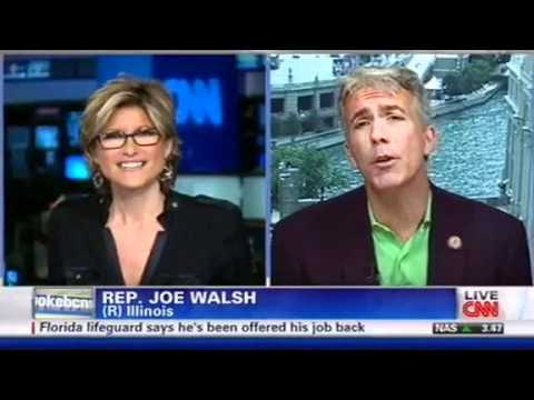 Rep. Joe Walsh, CNN Anchor Get in Shouting Match Over Tammy Duckworth Comments