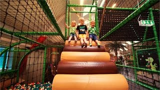 [Part 3/4] Indoor Playground Fun for Kids and Family at Lek & Bus Nacka